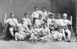 Canadian_Lacrosse_champion_Mohawk_Kahgnawake_team
