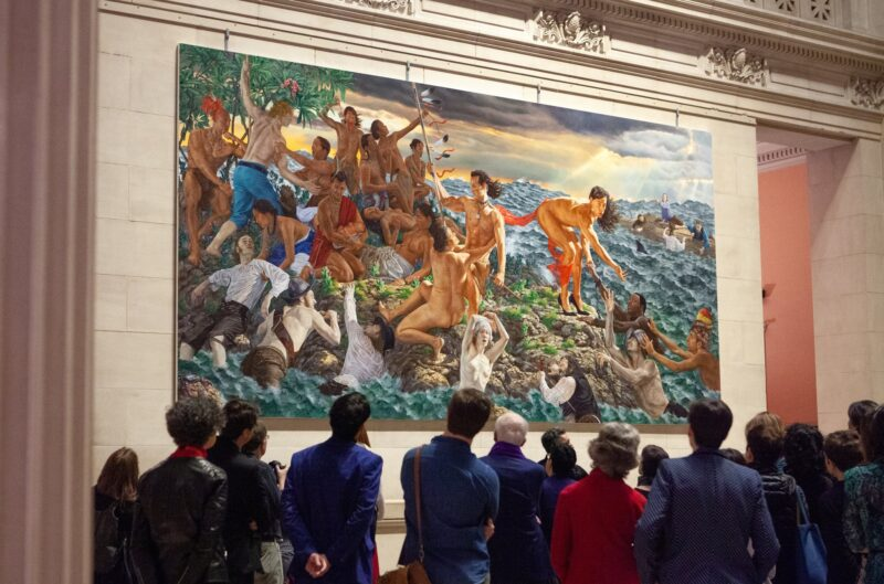 Kent Monkman rewrites history to suit his purposes––just like colonials do.